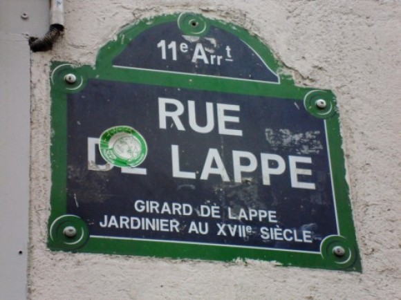 Michel Esbelin – partie 5 : la rue de Lappe